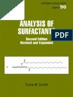 Analysis of Surfactants 2nd ed - T. Schmitt (Marcel Dekker, 2001) WW.pdf