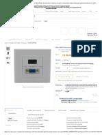 Aliexpress.com_ Comprar VGA y HDMI Placa de pared con conector hembra a hembra de hdmi wall plate fiable proveedores en DMTMB Store.pdf
