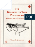 [Carlos S Carbonell] the Grasshopper Tribe Phaeopa