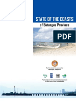 State of the Coasts of Batangas Province