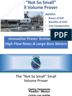FMD Not So Small Prover - 2017 - No Videos | Flow Measurement