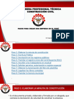 Pasos Para Crear Una Empresa en El Perú