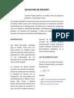 Ecuacion de Polanyi Articulo