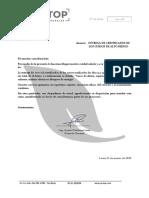Carta de Entrega CONCAR 16.03.18