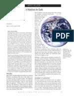 Earth Manifesto