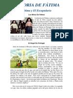 Historia DE LA VIRGEN DE FATIMA
