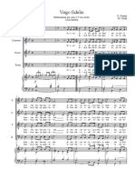Virgo-fidelis-partitura 4 Voci Garbini
