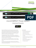 MicroCOMPACT Power System