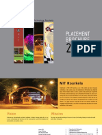 Placement Brochure 2010