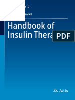 Handbook of Insulin Therapies 2016