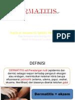 2018 Prof. Harijono Dermatitis