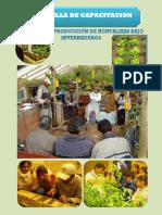 Cartilla de Capacitación - Producción en Carpas Solares - Para la Agricultura Urbana y Perirurbana de Potosí, Bolivia