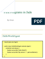 First Programs in Jade