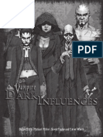 Vampire Dark Influences Rulebook