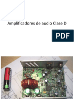 Amplificadores de Audio Clase D