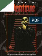Vampire - Die Maskerade - Clanbuch 3te Ed. - Deutsch - Ventru - FS4107