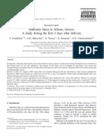 Journal of Affective Disorders Volume 99 Issue 1-3 2007 [Doi 10.1016%2Fj.jad.2006.08.028] F. Gonidakis; A.D. Rabavilas; E. Varsou; G. Kreatsas; G.N. Chris -- Maternity Blues in Athens, Greece-- A Stud