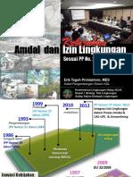 Amdal 2018 5-Kebijakan Ijin Lingkungan Klh