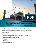 Komponen Komponen Masjid