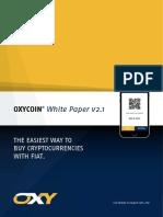 White Paper - OXYCOIN