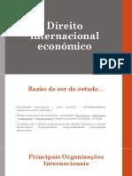 Direito Internacional Economico