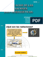 radiación exponer