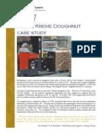Krispy Kreme Case study