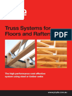 Pryda Truss Systems for Floors Rafters 2015 W