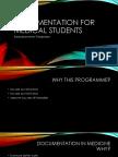 Documentation for Medical Students