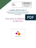 Guia Elaboracion Memoria