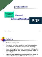 CH 01 Defining Marketing 1
