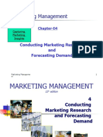 CH-04-Marketing Research and Forecasting