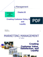 CH-05-Creating Customer Value, Satisfaction and Loyalty
