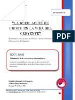 2018 MES 05 DIA 20 -R. CELULAS - LA REVELACION DE CRISTO EN LA VIDA DEL CREYENTE - PASTORA LILIAN QUIÑONES.docx