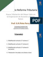 Pinto Perry Tributación Enajenación de Acciones y Otras Inversiones