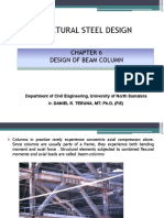 Design of Beam-column