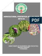 Agriculture at a Glance2014-15