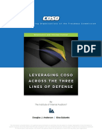 2015 Leveraging COSO 3LOD