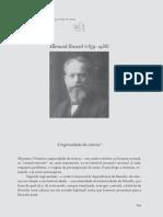 A ingenuidade da ciência - Edmund Husserl
