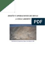 Diseño y Operaciones de Minas Rajo