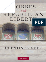 Hobbes and Republican Liberty. Quentin Skinner