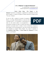 The People vs. O.J. Simpson e o Conflito de Interesses