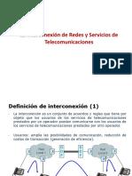 7.1 INTERCONEXION