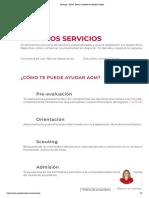 Servicios - AGM - Becas y Estudios en Estados Unidos