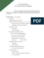 Licitação Pública - Conceito, Princípios, Dispensa e Inexibilidade