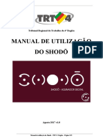 Manual Do Shodo