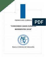 """""""CONCURSO CASOS CLÍNICOS RESIDENTES 2018"""