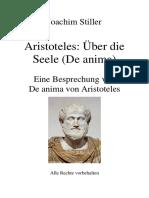 Philosophie Seele Aristoteles de Anima