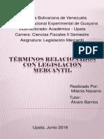 Términos Relacionados Con Legislación Mercantil 1