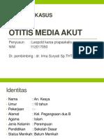 PPT Laporan Kasus - OMA